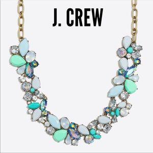 🆕 J.Crew Jeweled Gemstone Statement Necklace